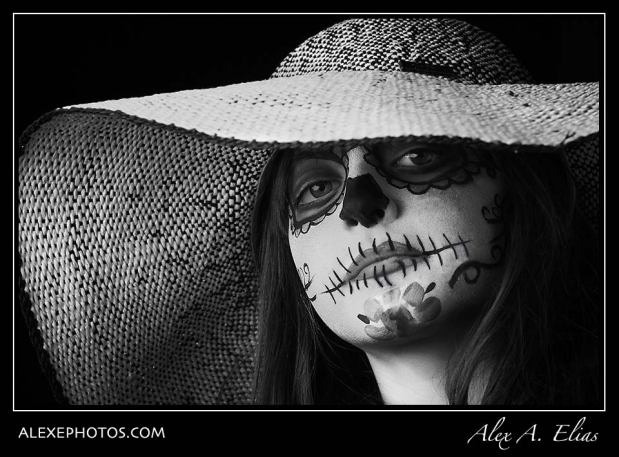 Dia de los muertos. Day of the dead.
